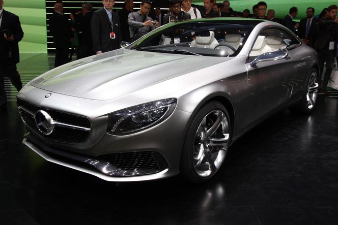 Surprise : la future Mercedes S63 AMG Coupé