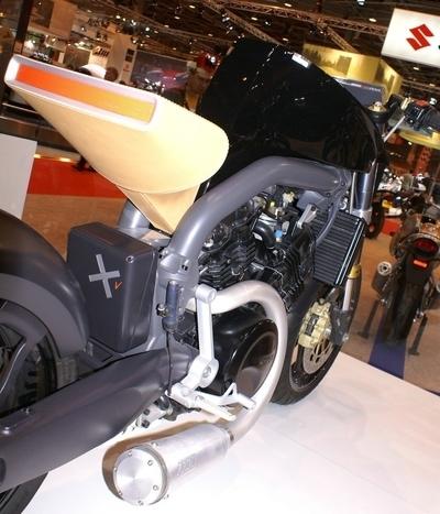 Salon de la moto 2007 - Voxan Starck Café Racer : Super Naked