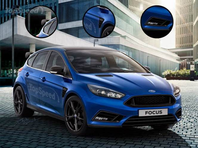 Future Ford Focus RS : comme ça ?
