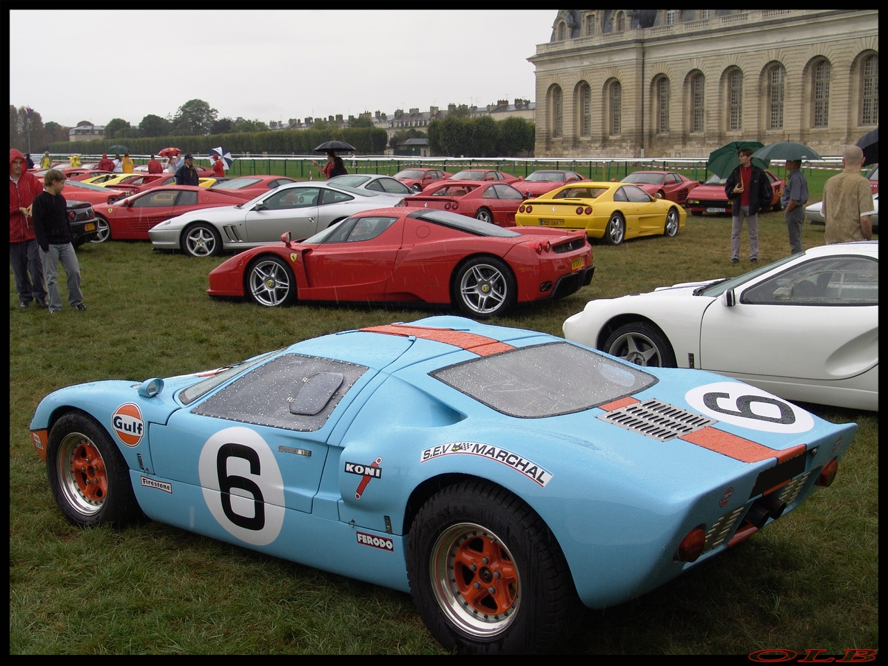 La photo du jour : Ford GT40