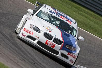 Superstars 2009: La BMW M3 coupé dans la course