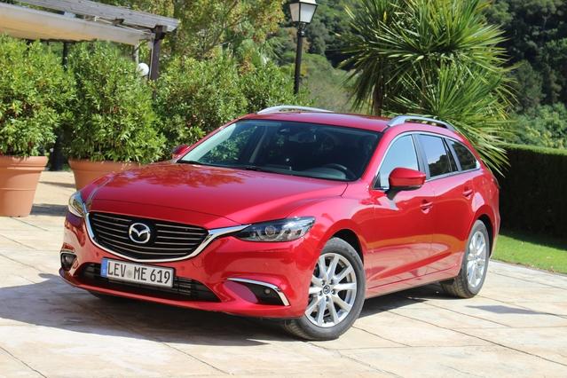 Essai vidéo - Mazda 6 Wagon (2017) : déficit d'image