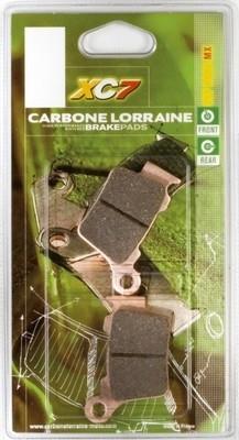 Carbone Lorraine freine les cross avec ses plaquettes XC7.