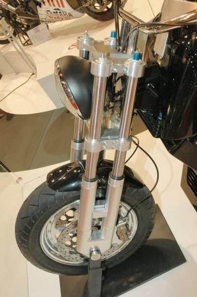 Salon de la moto 2007 : Neander Turbo Diesel