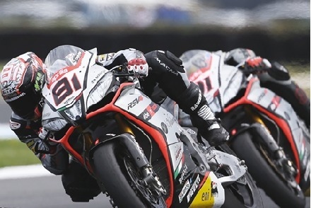Superbike – Phillip Island: Aprilia compte à présent cinquante victoires