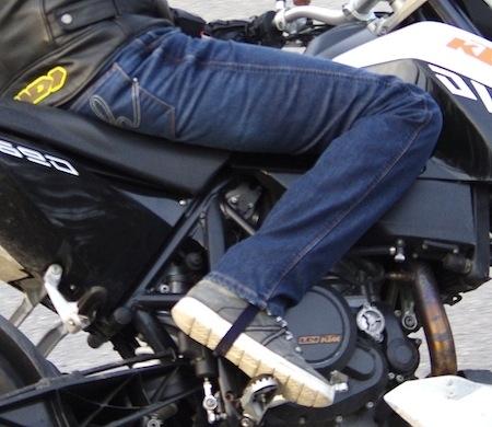 Essai Helston's Corden: un jean sécurisant et homologué