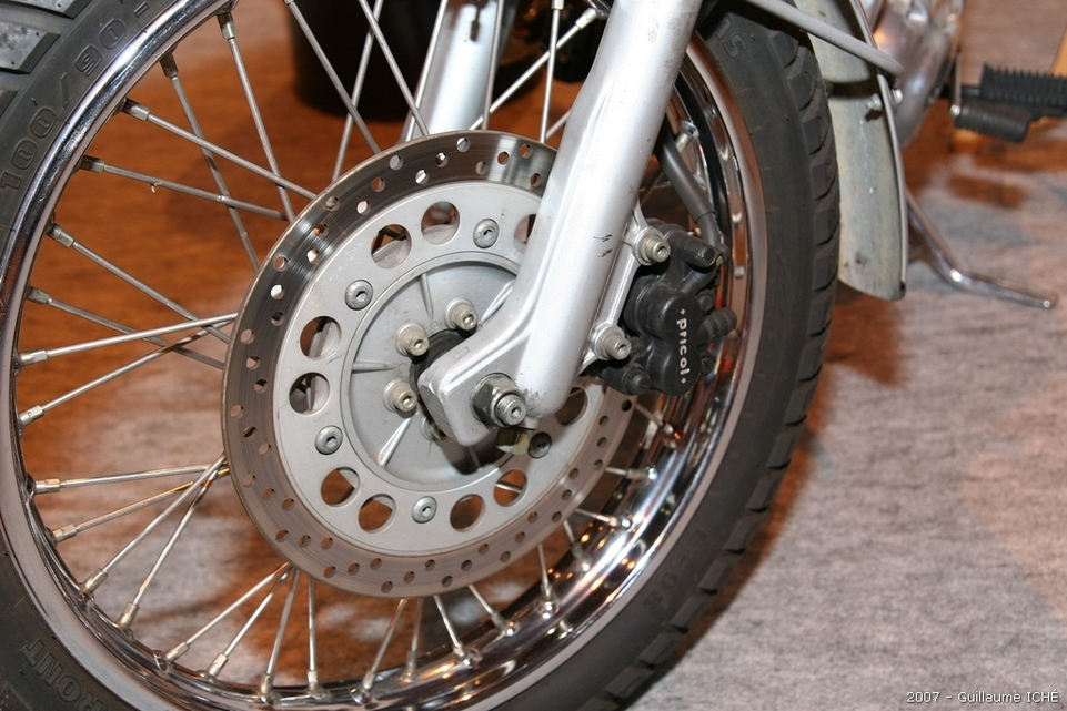 Salon de la moto 2007 en direct : le Portfolio 1, Royal Enfield et Scorpa