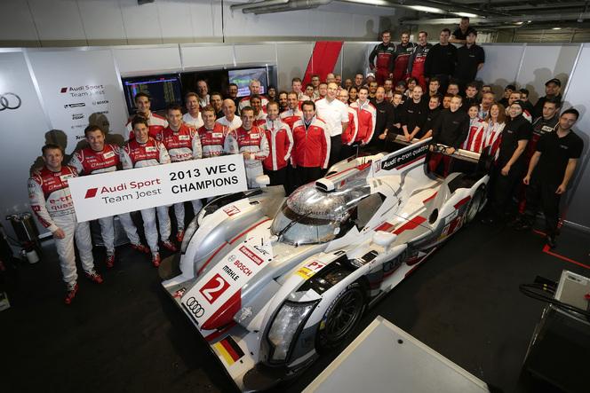 WEC-6 Heures de Fuji: Audi champion du monde