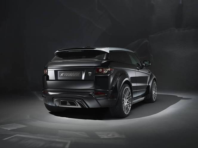 hamann gonfle le range rover evoque moteur et carrosserie. Black Bedroom Furniture Sets. Home Design Ideas