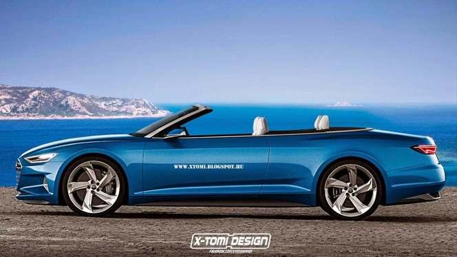 Audi A9 Prologue >> Audi A9 cabriolet : comme ça