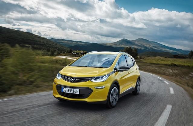 Mondial de Paris 2016 - Opel Ampera-e: plus de 400km d'autonomie