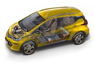 Les batteries sont dans le soubassement pour préserver l'habitabilité et le volume de coffre.