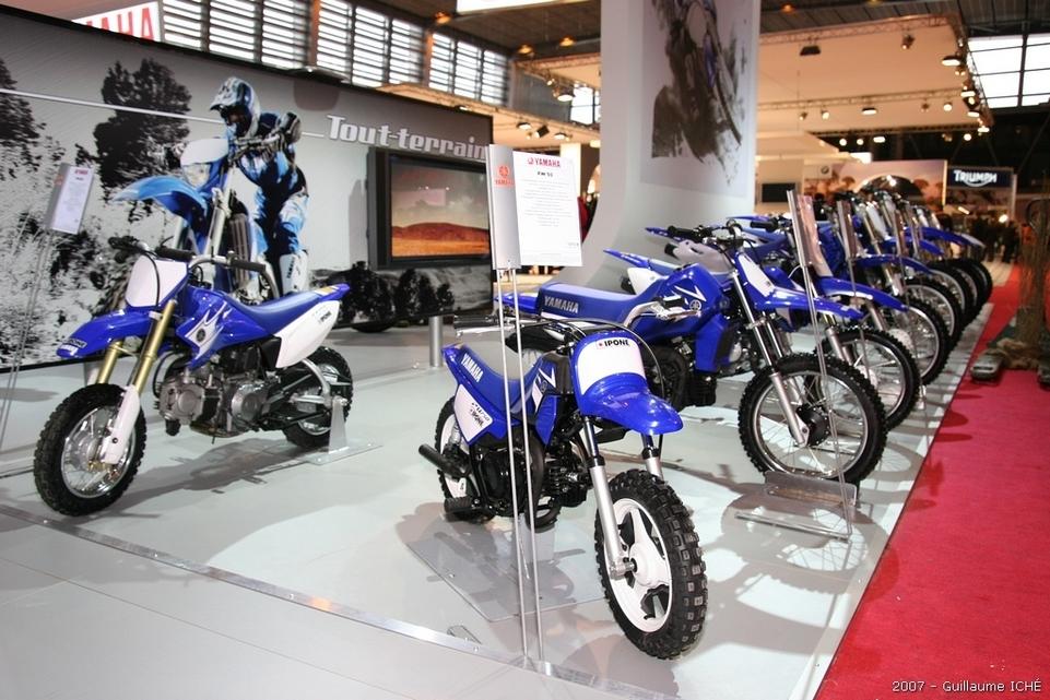 Le Salon de la moto 2007 en direct : le Portfolio 2, Yamaha