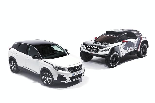 Peugeot 3008: voici la version DKR pour le Dakar 2017