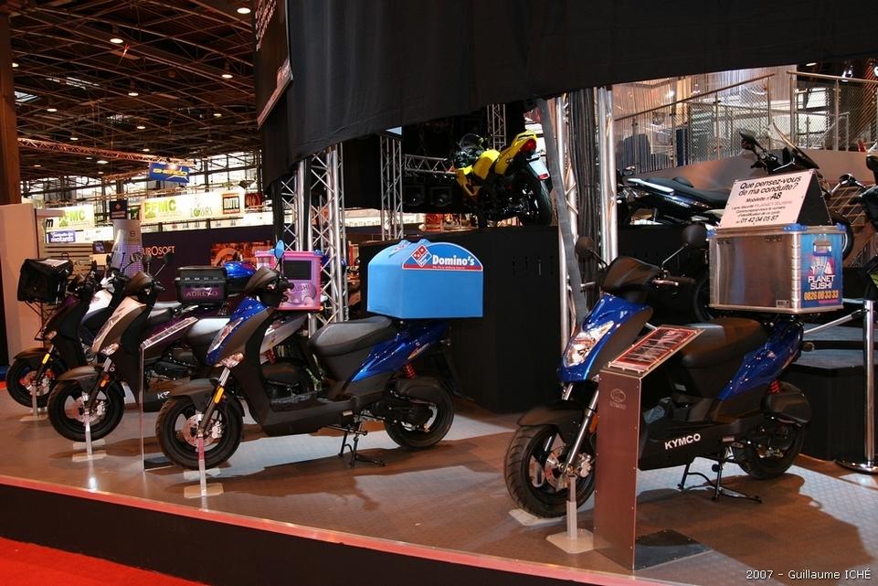 Salon de la moto 2007 en direct : le Portfolio 3, Peugeot et Kymco