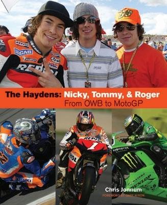Moto GP : la Dynastie Hayden en librairie