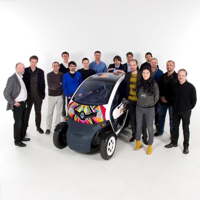 Renault Twizy sacré best of the best 2012 aux Red Dot Design Awards
