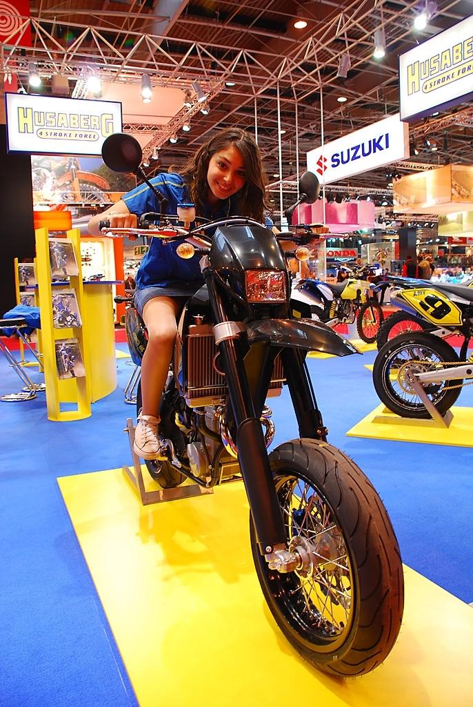 Salon de la Moto 2007 en direct : Husaberg série FS
