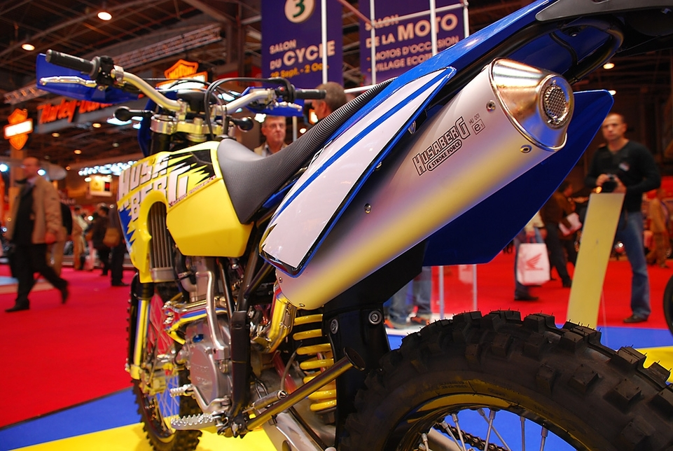 Salon de la Moto 2007 en direct : Husaberg série FE