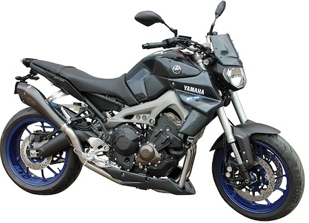 Exan: ligne d'échappement complète pour Yamaha MT 09