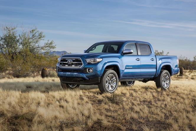 Detroit 2015 : voici le nouveau Toyota Tacoma