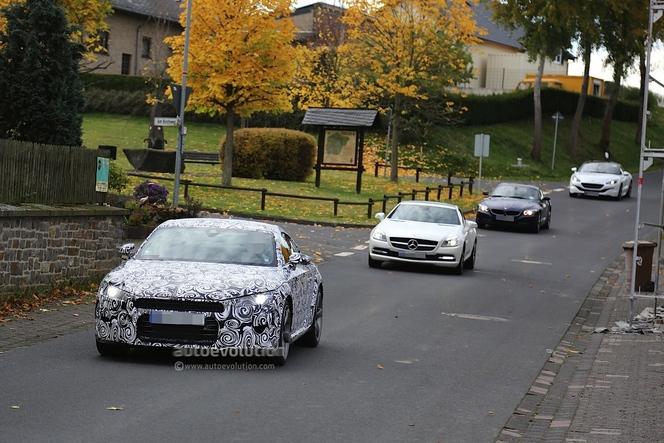 Surprise : le futur Audi TT se montre enfin