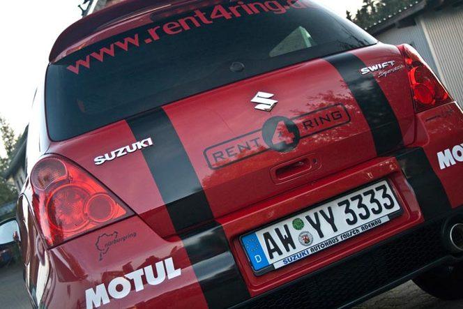 Insolite - Que réclament 2800 tours du Nürburgring en Suzuki Swift Sport ?