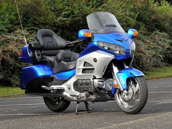 Photo honda gl goldwing 2001