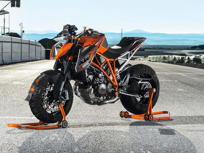 Photo ktm super duke 2008