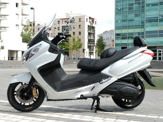 Argus moto SYM MAXSYM de 2018 - Cote gratuite
