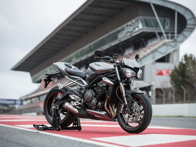 Photo triumph street triple 2017