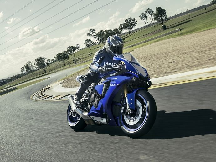 Photo yamaha yzf r1 2000