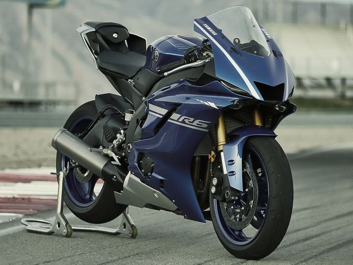 Photo yamaha yzf r6