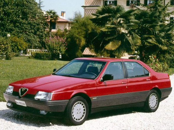 Photo alfa romeo 164 1990