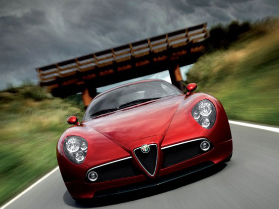 Photo ALFA ROMEO 8C