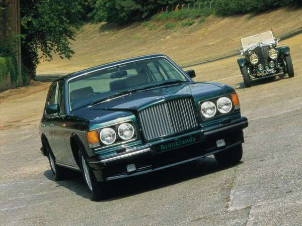 Photo bentley brooklands 1997