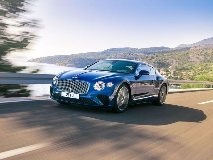 Photo bentley continental 2002