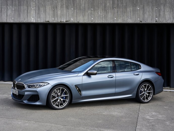 Photo bmw serie 8 gran coupe 2019