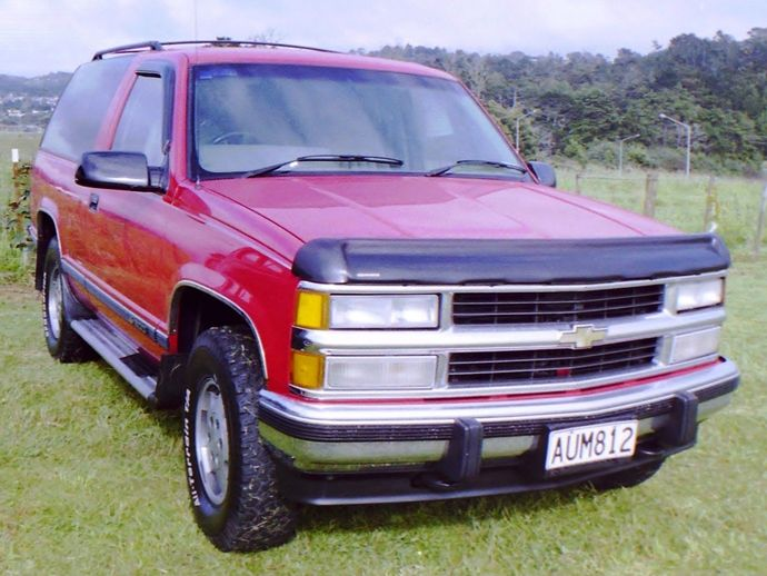 Photo CHEVROLET K5 BLAZER