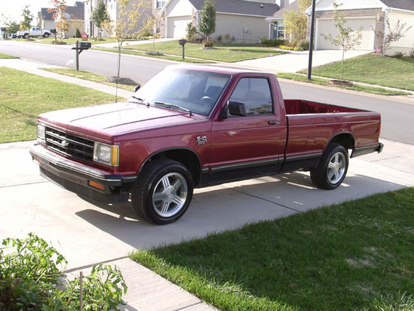 Photo CHEVROLET S10 PICK UP