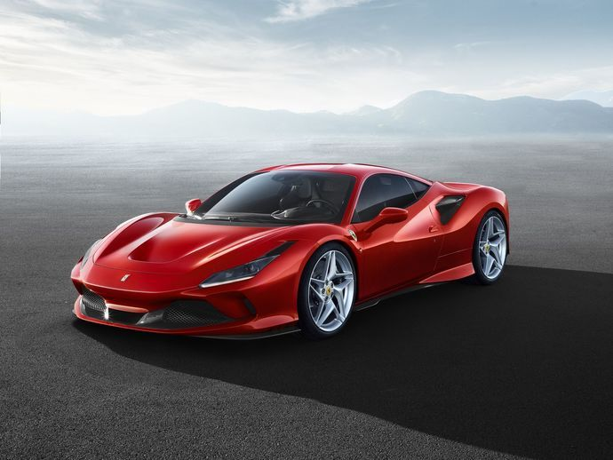 Photo ferrari f8 tributo 2020