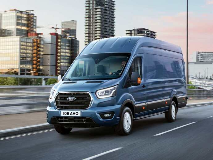 Photo ford transit 1994