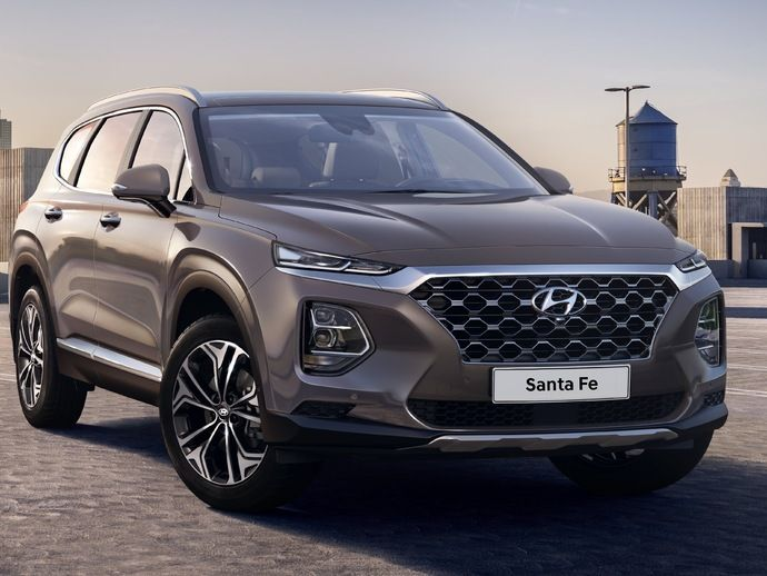 Photo hyundai santa fe 2019
