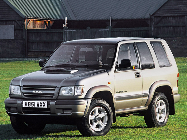 Photo isuzu trooper 1999