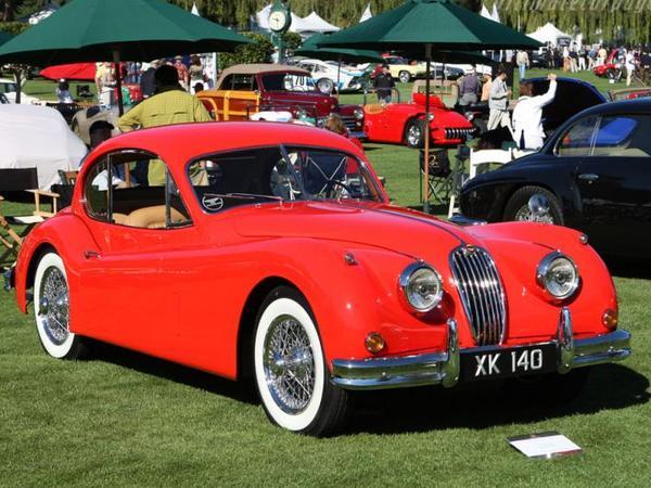 Photo jaguar coupe xk