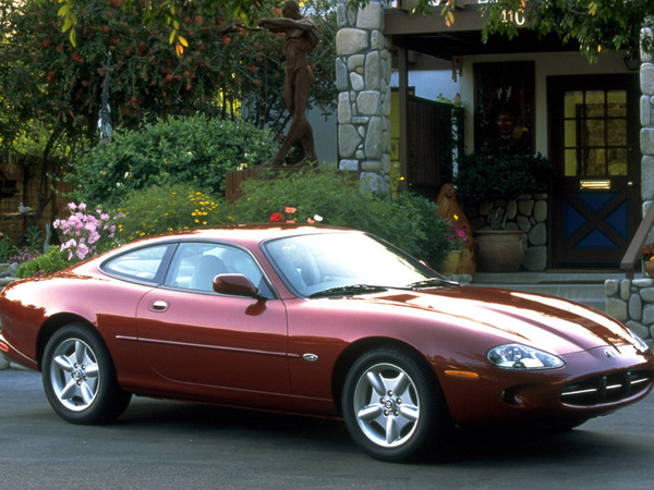 Photo jaguar xk8 1998
