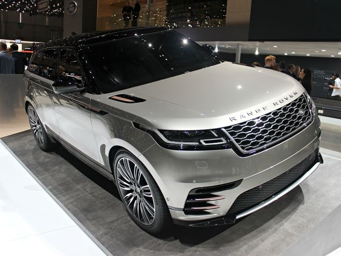 Photo land rover range rover velar 2017