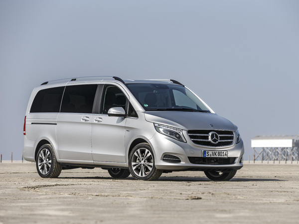 Photo mercedes classe v 2008