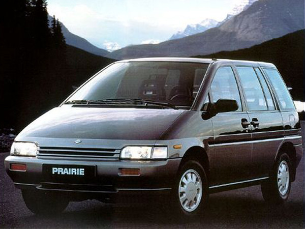 Photo nissan prairie 1992