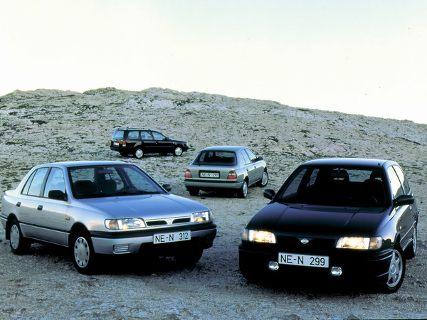 Photo nissan sunny 1985